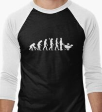 Evolution gardener Men's Baseball ¾ T-Shirt