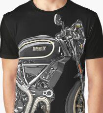 Ducati Scrambler Sticker Graphic T-Shirt