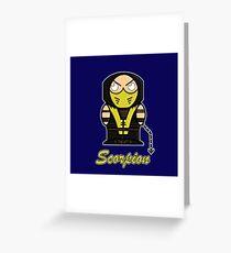 Scorpion (Demonoids) Greeting Card