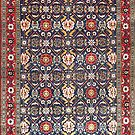 Veramin Persian Carpet by Vicky Brago-Mitchell