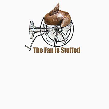 the fan is stuffed by JohnOfLightning