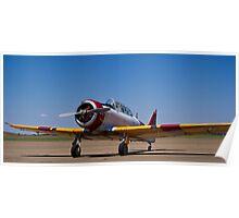North American Rokwell Harvard AT-6C (SAAF 69) (ZU-FNE) Poster