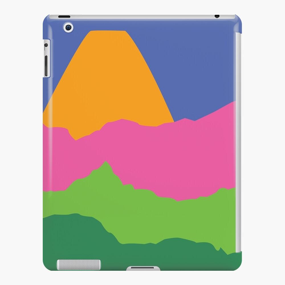 Orange Berg iPad-Hülle & Skin
