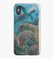 "Sea Turtle ""Turtle Bay"" iPhone Case/Skin"