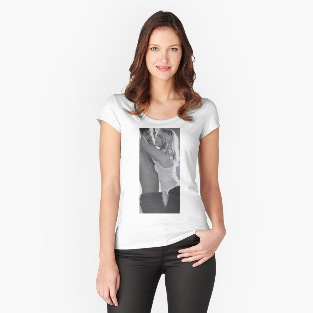 TenRose Women's Fitted Scoop T-Shirt Front