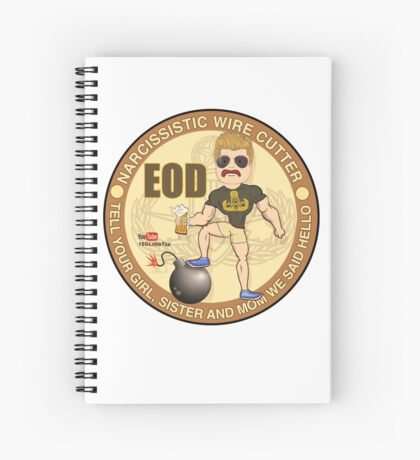 EOD- Cross Branch Version Spiral Notebook