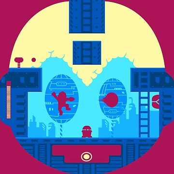 Retro Game Robot by dchalle
