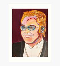 Musician Portrait  Art Print