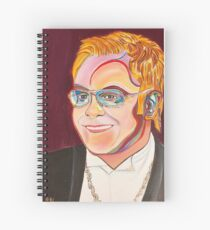 Musician Portrait  Spiral Notebook