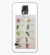 Tree Infograph Case/Skin for Samsung Galaxy