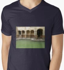 ROMAN BATHS Men's V-Neck T-Shirt
