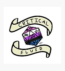 Critical Fluid! Photographic Print