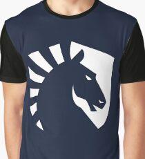 Team Liquid Logo White Graphic T-Shirt