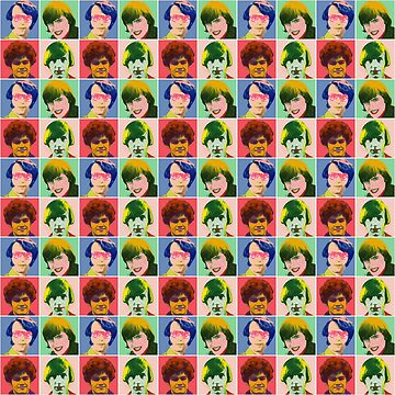 Warhol Monkees (Checkered) by bluechroma