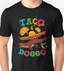 Cinco de Mayo Dachshund Dog Unisex T-Shirt