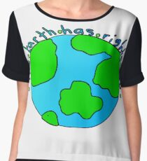 The Earth has Rights too Chiffon Top
