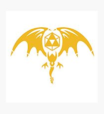 Tri-force Dragon Photographic Print