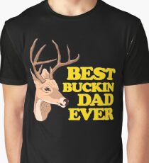 Funny Hunting Fathers Day Apparel Graphic T-Shirt