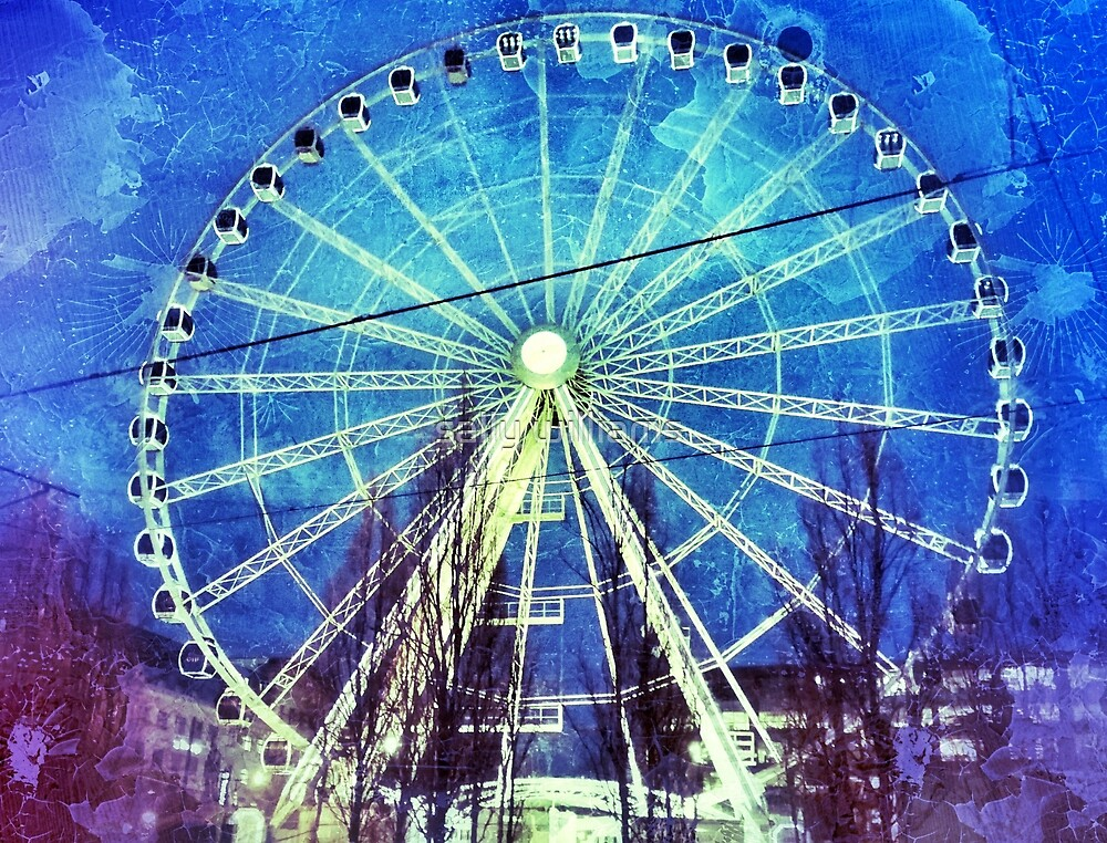 The Ferris Wheel by sally williams