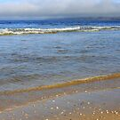 Robberg from Plettenberg bay beach by Antionette