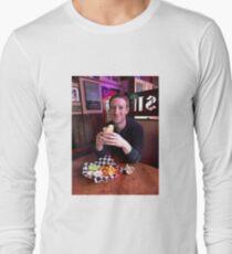 mark zuckerberg consumes human sustenance Long Sleeve T-Shirt