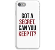 PLL Theme Song iPhone Case/Skin