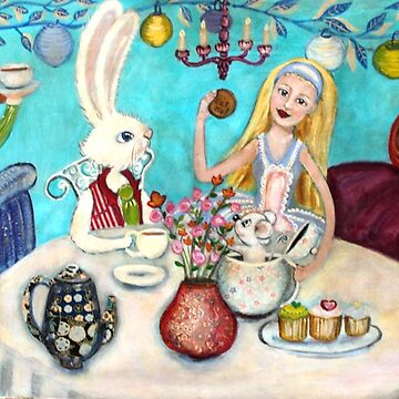 Mad Hatters Tea Party by Lornie