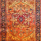 Heriz Persian Carpet circa 1880 by Vicky Brago-Mitchell