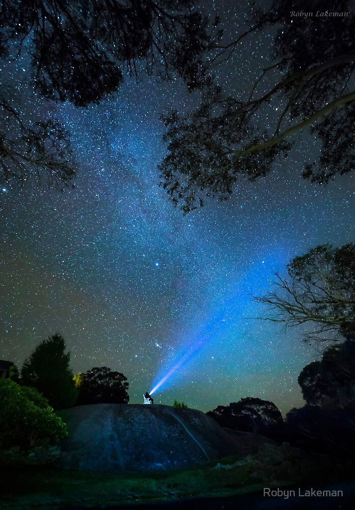 Lighting up the stars by Robyn Lakeman