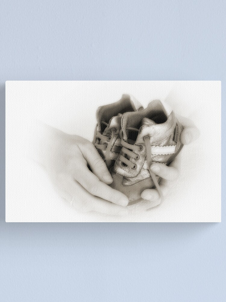 Alternate view of Hands: Care and protection Canvas Print