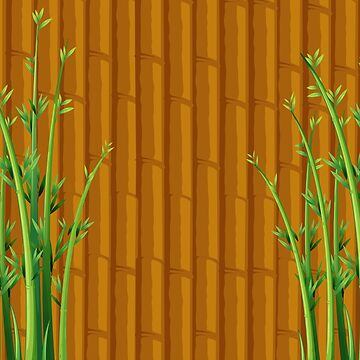 Bamboo Duvet Covers Wall Of Bamboo by CreatedProto