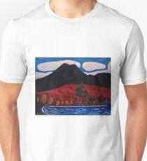 """""""Mount Katahdin, Autumn, No. 2 """" Unisex T-Shirt"""