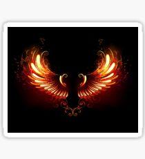 Fire Wings Sticker
