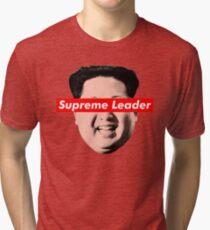 Supreme Leader Un - Kim Jong Un Parody T-Shirt Tri-blend T-Shirt
