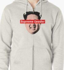 Supreme Leader Un - Kim Jong Un Parody T-Shirt Zipped Hoodie