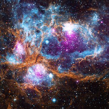 X-Ray Nebula Star Cluster by flashman