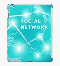Social Network.  iPad Case/Skin