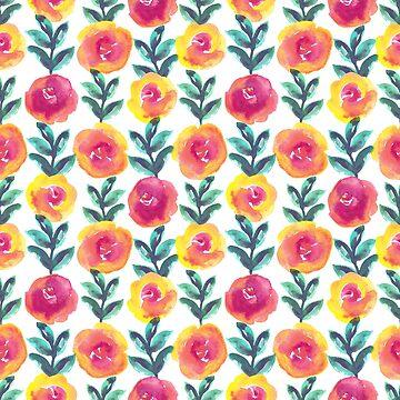 Summer Flowers by MarynArts