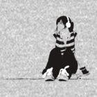 skater girl headphones by eliot hurley