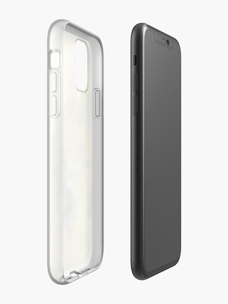 apple étui - Coque iPhone «Texture nuageuse esthétique», par StylishTayla