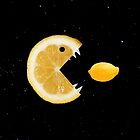 Funny Lemon Eats Lemon by Boriana Giormova