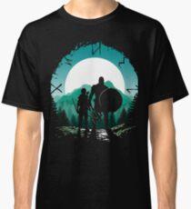 Camiseta clásica Kratos e hijo