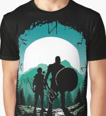 Kratos and son Graphic T-Shirt