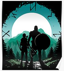 Kratos and son Poster
