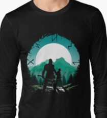 Kratos and son Long Sleeve T-Shirt