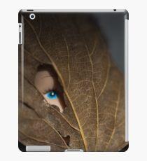 Blue eyed nature girl iPad Case/Skin
