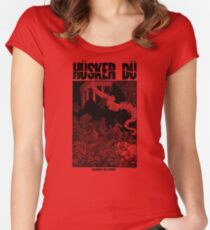 ✅ Hüsker Dü Celebrated Summer Women's Fitted Scoop T-Shirt