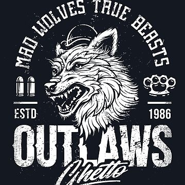 Outlaws Ghetto Wolves by Vecster