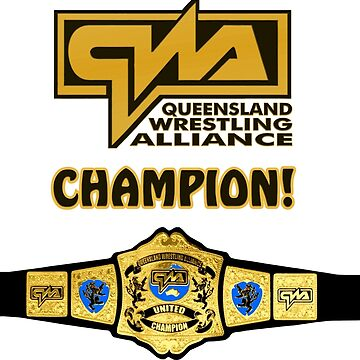 QWA Champion Belt by Chewfactor