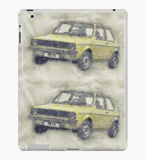 Volkswagen Golf - 1974 iPad Case/Skin